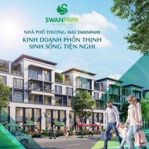 Dự án nhà phố Swan Park tại Nhơn Trạch Đồng Nai