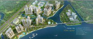 Tổng thể dự án Water Bay của chủ đầu tư Novaland