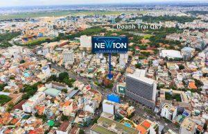 Vị trí căn hộ Newton Trương Quốc Dung quận Phú Nhuận